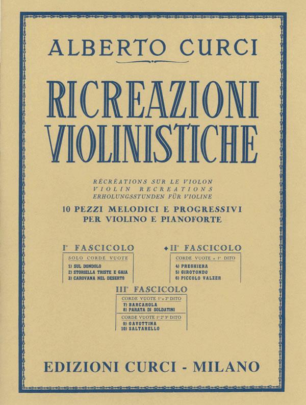 Ricreazioni violinistiche pdf