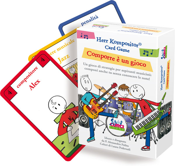 Herr Kompositor - Card Game. Comporre è un gioco