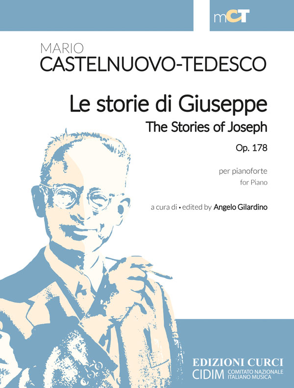 Le storie di Giuseppe / The Stories of Joseph per pianoforte op. 178