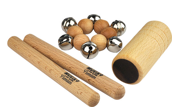 Set di mini percussioni (4 pz.)