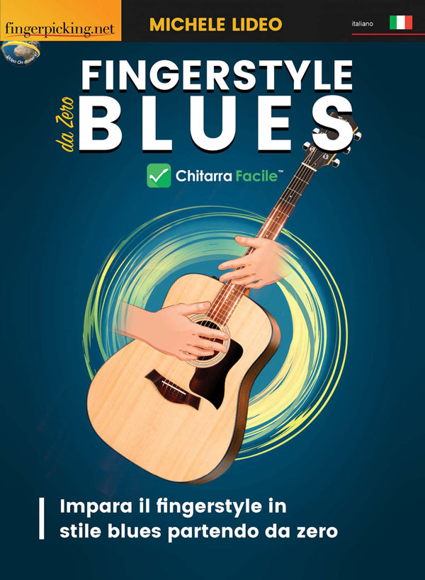 Fingerstyle blues - Chitarra facile