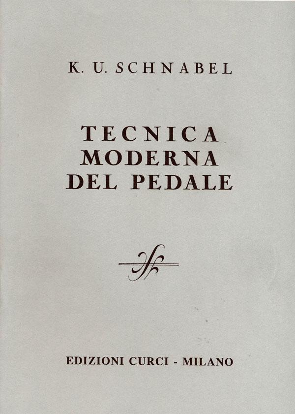 Tecnica moderna del pedale edizioni curci catalogo for Tecnicas culinarias modernas