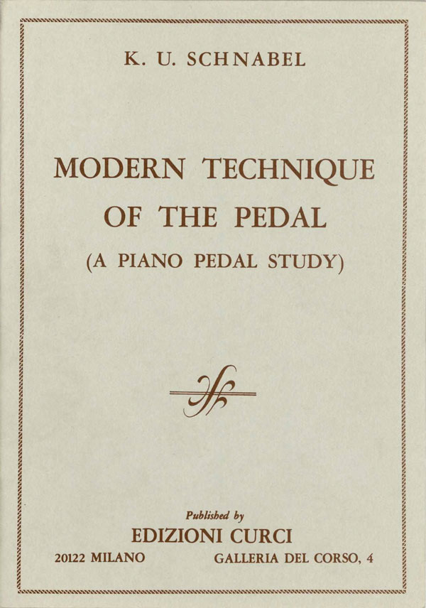 Modern Technique of the Pedal