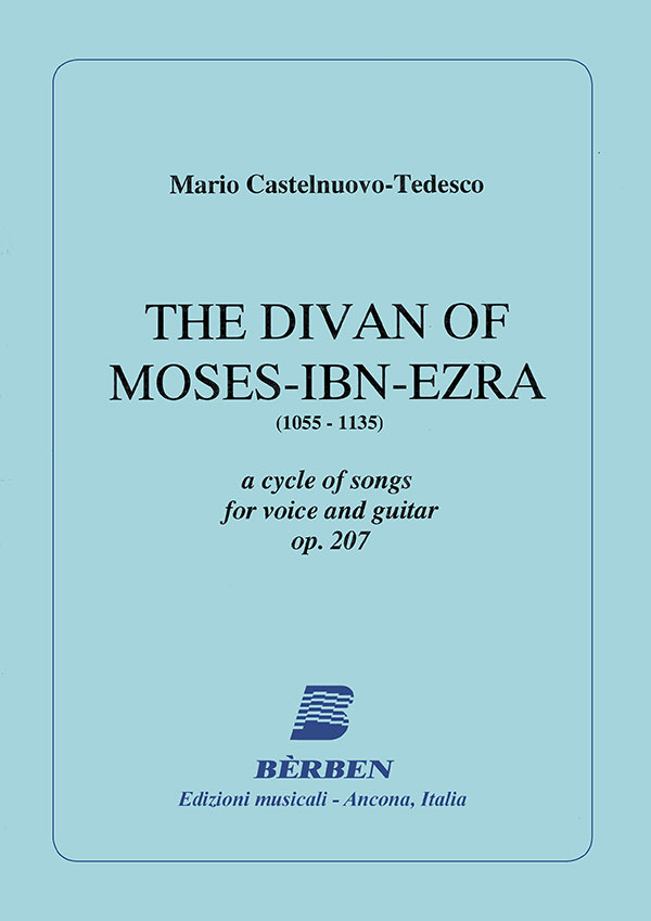 The divan of Moses-Ibn-Ezra op.207