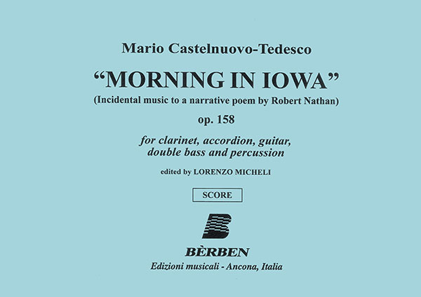 Morning in Iowa op. 158