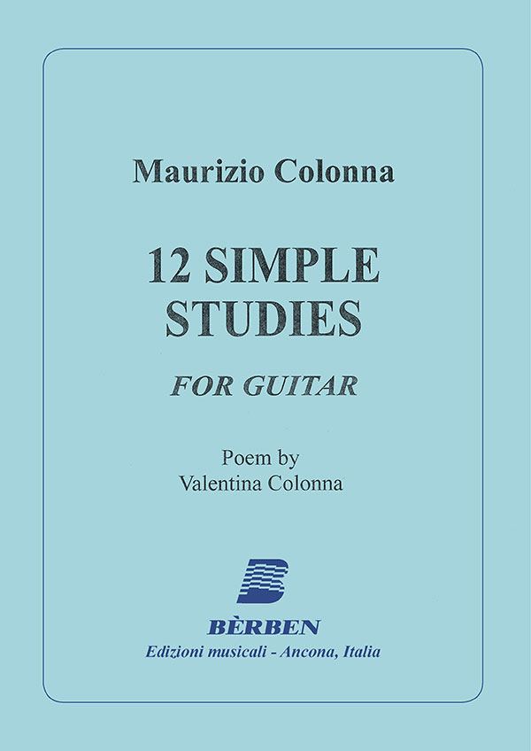 12 Simple studies per chitarra