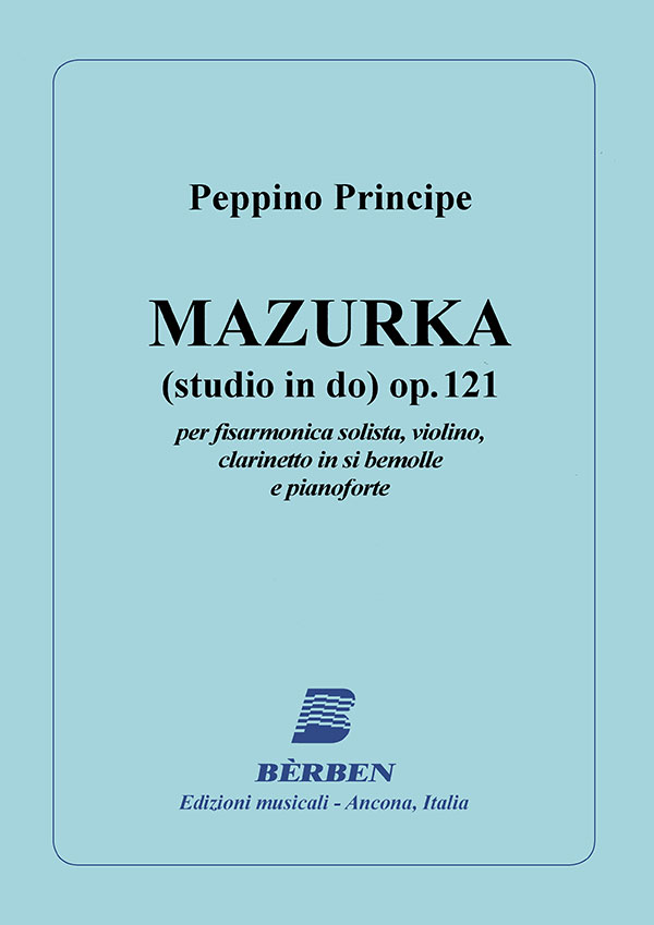 Mazurka (studio in Do) op. 121