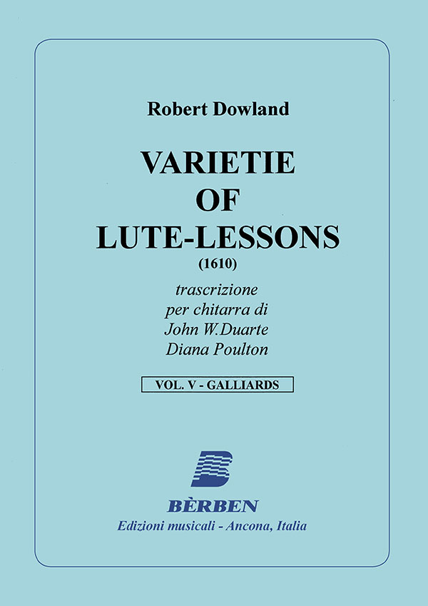 Varietie of Lute-Lessons