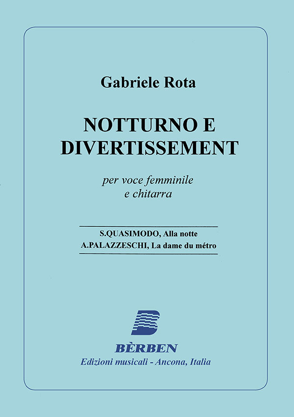 Notturno e divertissement