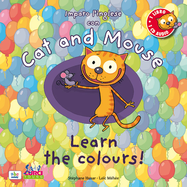 Imparo l'inglese con Cat and Mouse – Learn the colours!