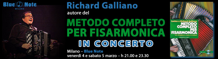 Richard Galliano al Blue Note!