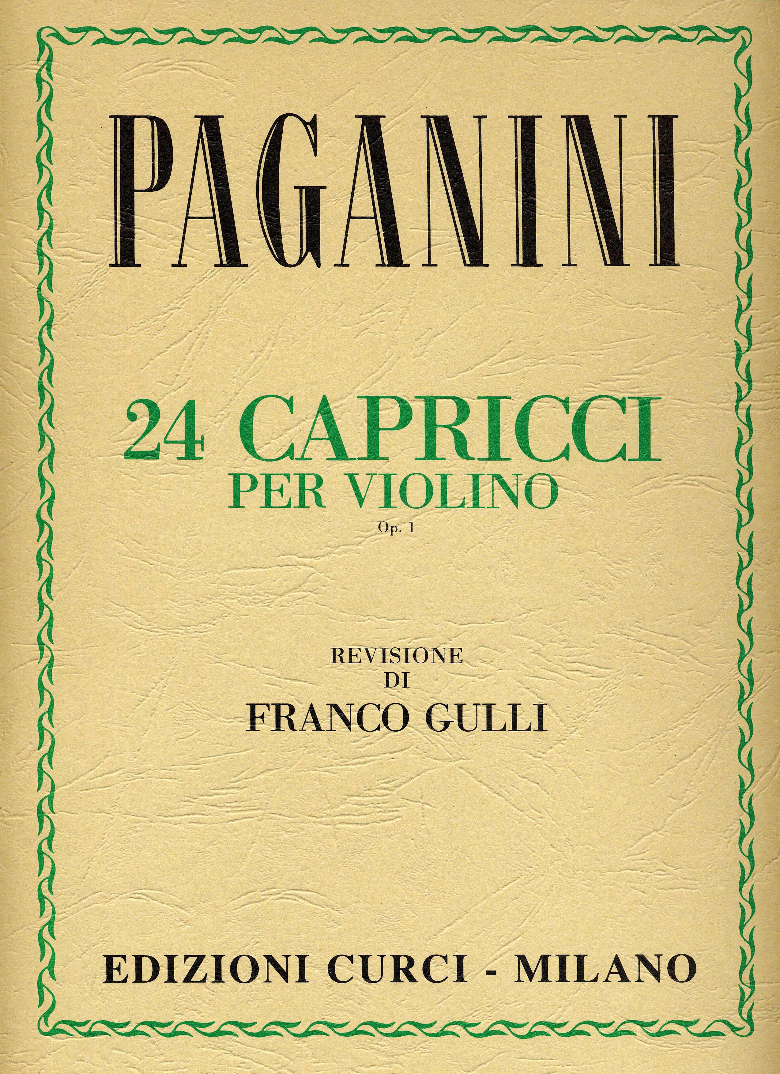 CAPRICCI PAGANINI PDF DOWNLOAD