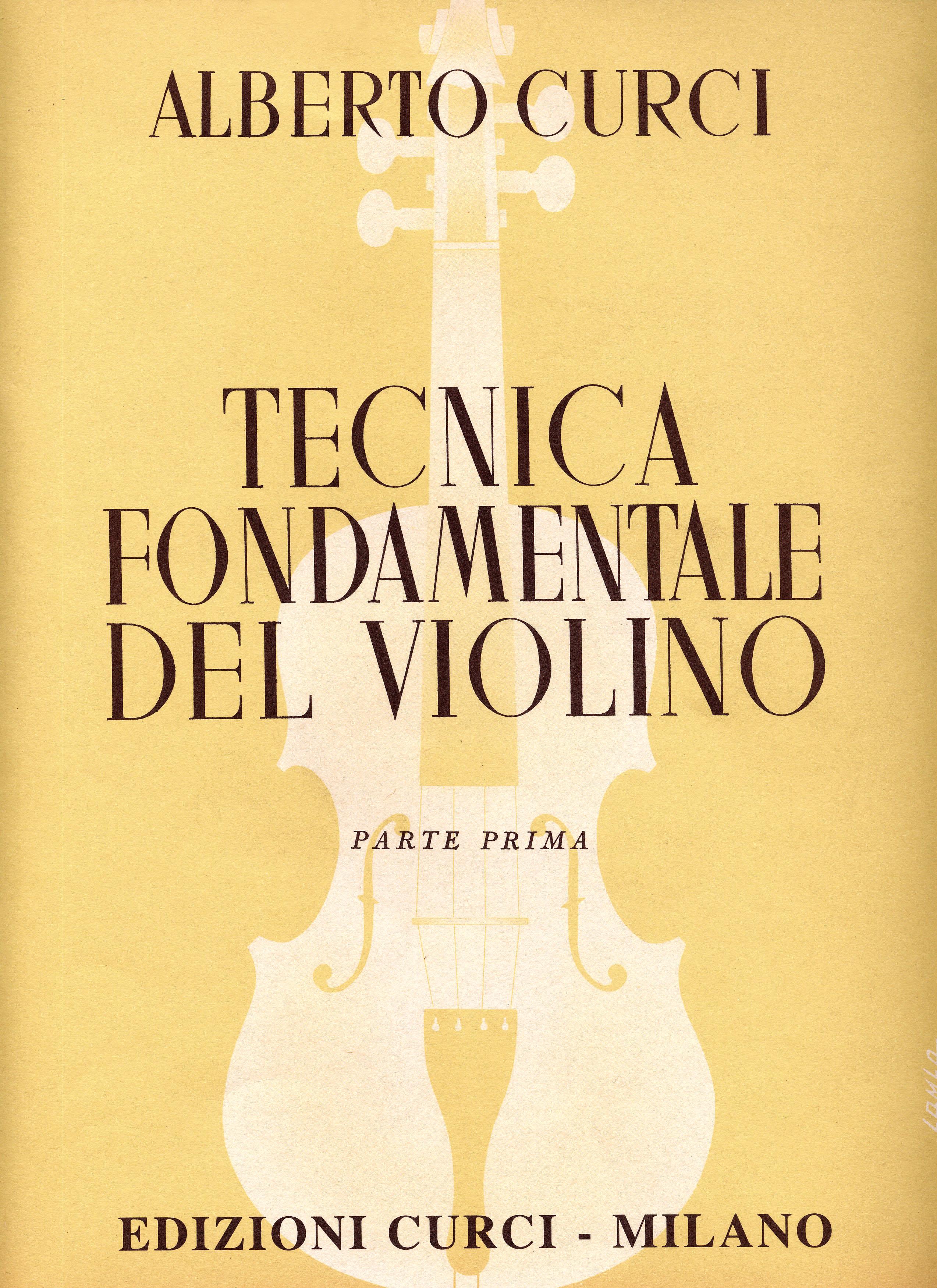tecnica fondamentale del violino parte 2  Tecnica fondamentale del violino-Edizioni Curci - Catalogo
