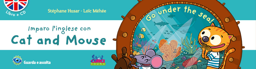 Imparo l'inglese con Cat and Mouse - Go under the sea!