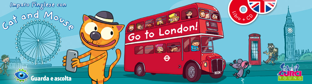 Imparo l'inglese con Cat and Mouse – Go to London!