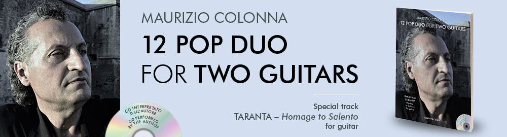 Maurizio Colonna: 12 Pop Duo for Two Guitars
