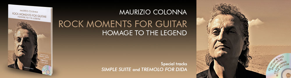 Maurizio Colonna, Rock Moments for Guitar – Homage to the Legend